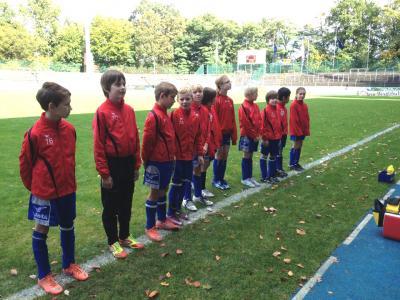 E-Jugend im Heidewaldstadion