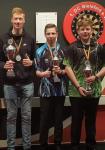 von links nach rechts: Sieger Tim Holtmann, Marvin Schöne, Paul Boenigk