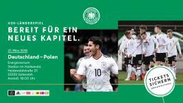 U20 Länderspiel in Gütersloh