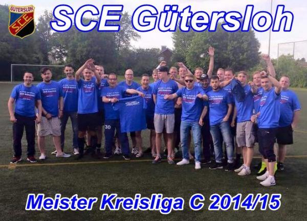 1. Mannschaft 2015 Meister